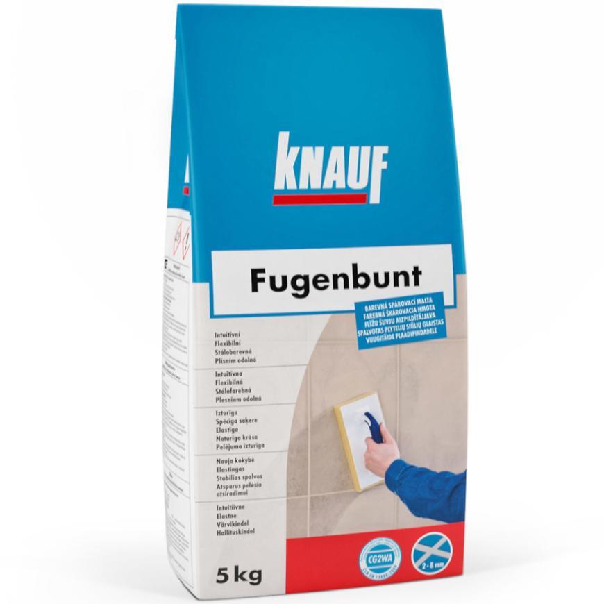 Spárovací hmota Fugenbunt bílá 5 kg