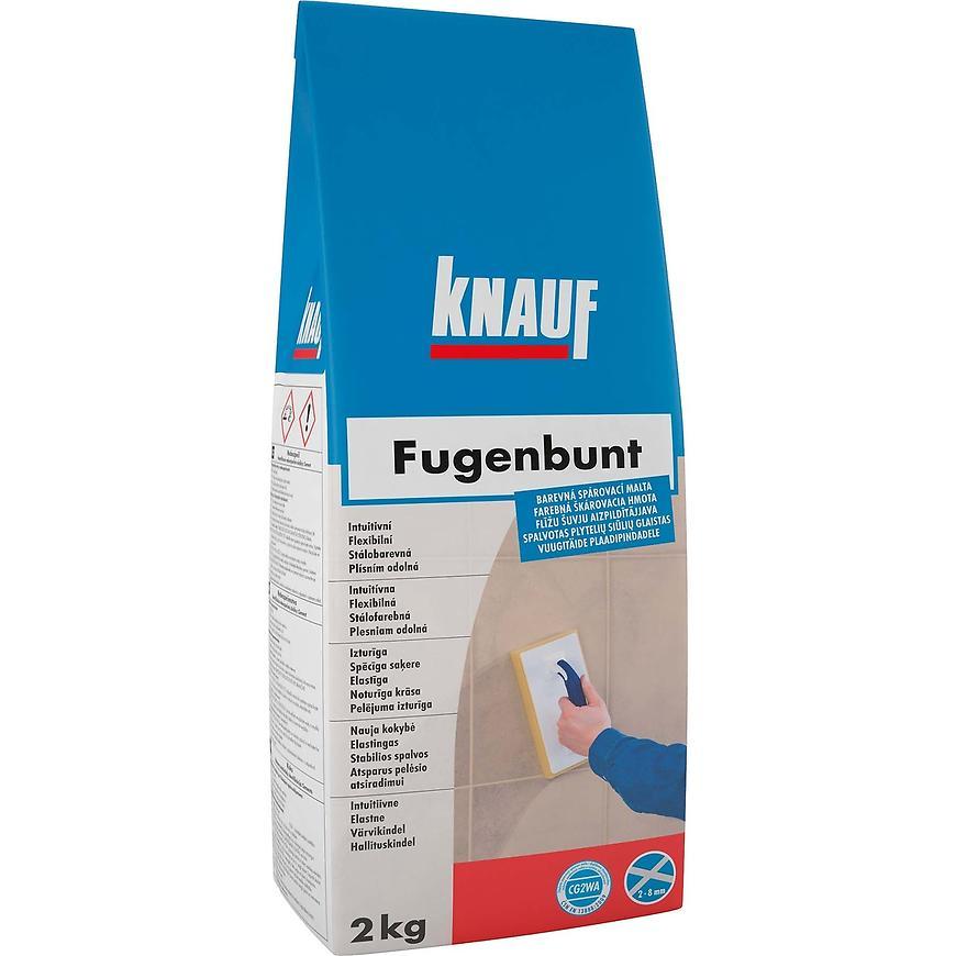 Spárovací hmota Fugenbunt šedá 2 kg