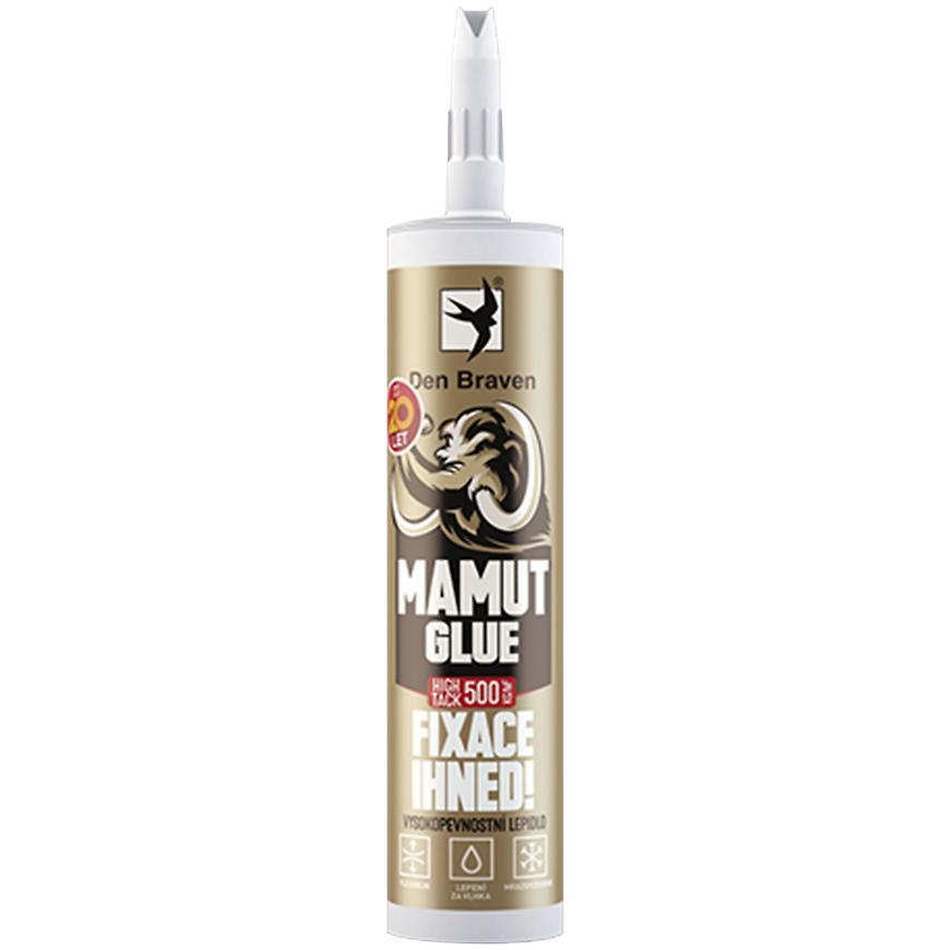 Lepidlo Den Braven Mamut Glue High Tack 290 ml bílé