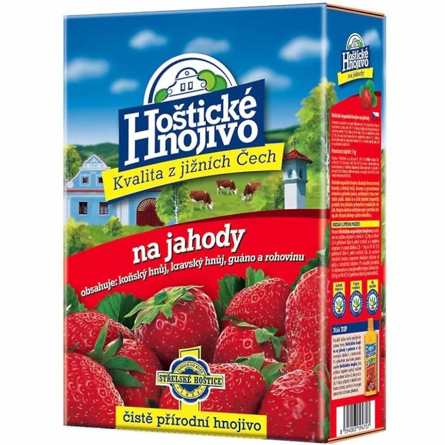 Hoštické hnojivo - hnojivo na jahody 1 kg
