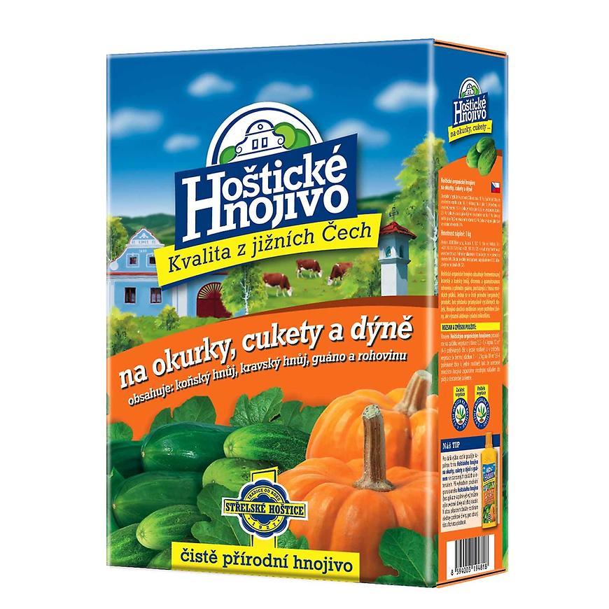 Hoštické hnojivo - hnojivo na okurky a cukety 1 kg