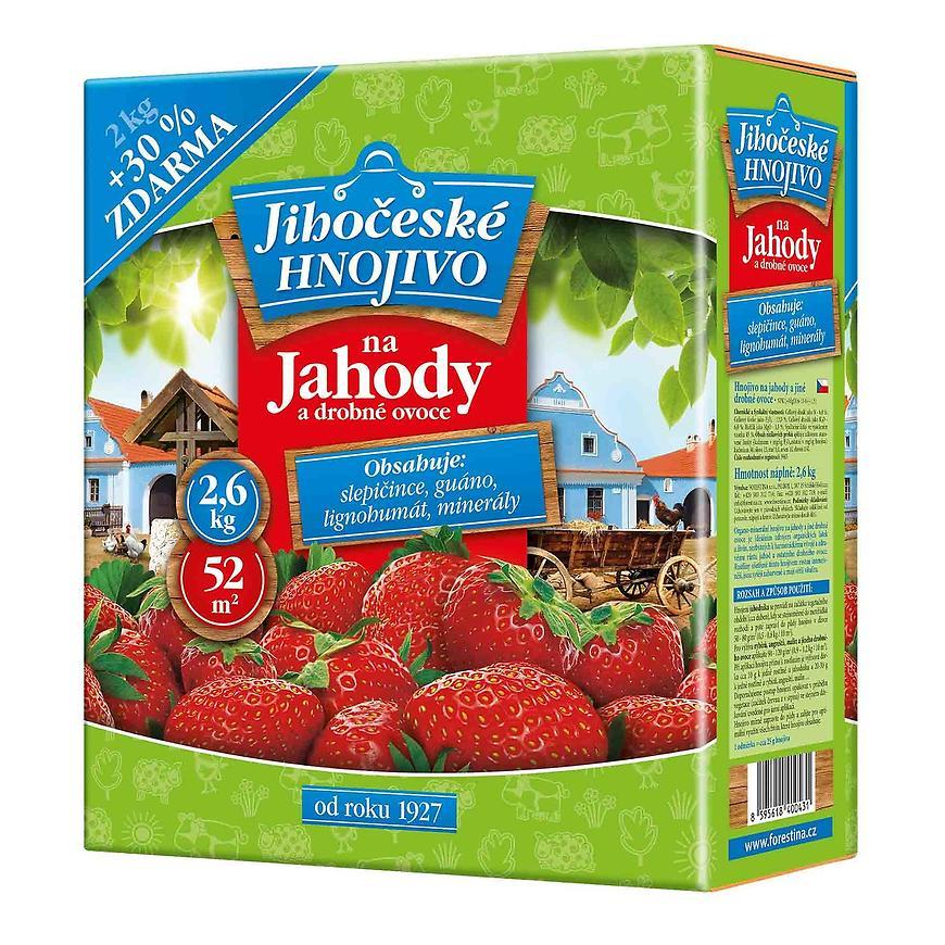 Jihočeské hnojivo - hnojivo na jahody 2,6 kg