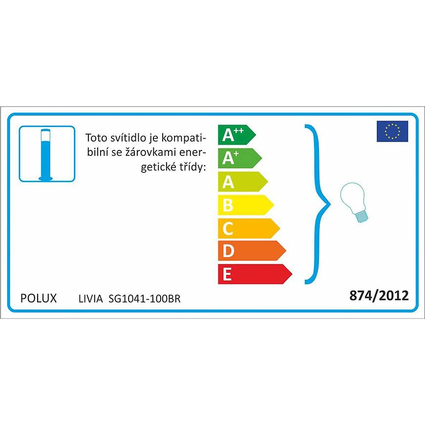 Svítidlo Livia Sg1041-100br Inox Ls100