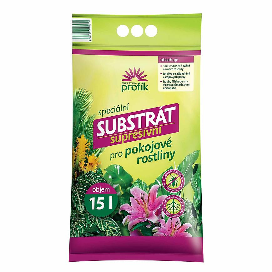 Profík - supresivní substrát pro pokojové rostliny 15 l