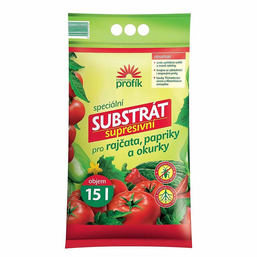 Profík - supresivní substrát pro rajčata, papriky a okurky 15 l