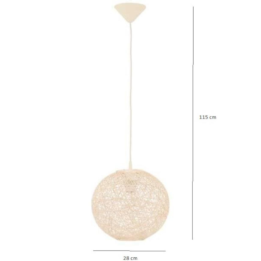 Závěsné svítidlo Abaka 12602 lw1