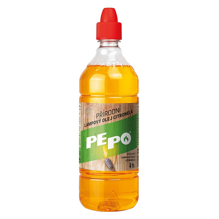 PE-PO přírodní lampový olej citronela 1l