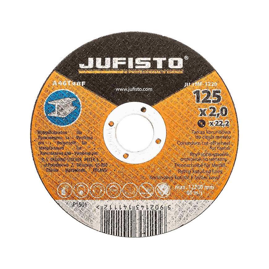 Řezný kotouč kov 125 x 2.0 mm, Jufisto