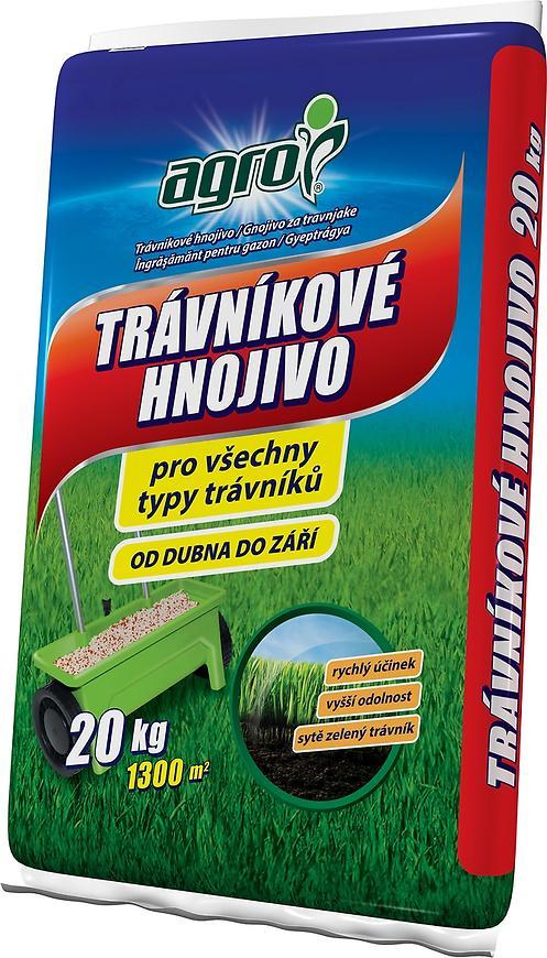 Trávníkové hnojivo Agro, 20 kg