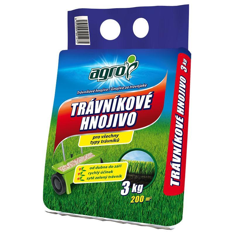 Trávníkové hnojivo Agro, 3 kg