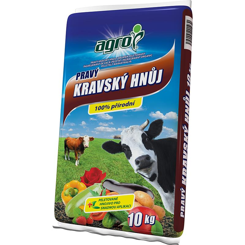 Agro kravský hnůj,10 kg