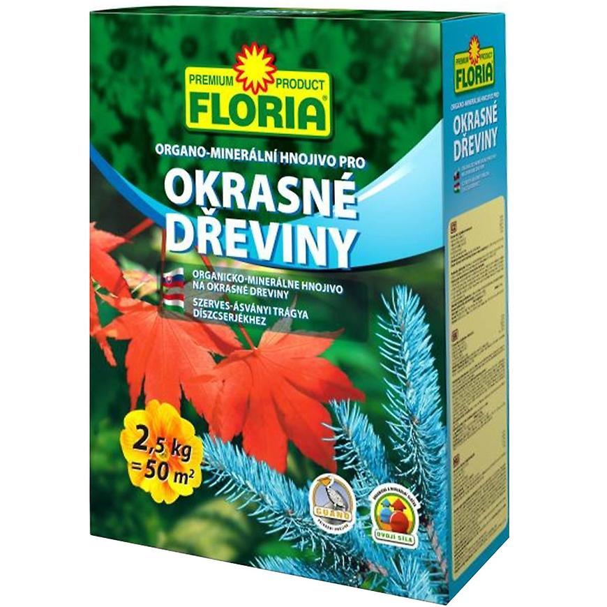 Organominerální hnojivo Floria, 2.5 kg