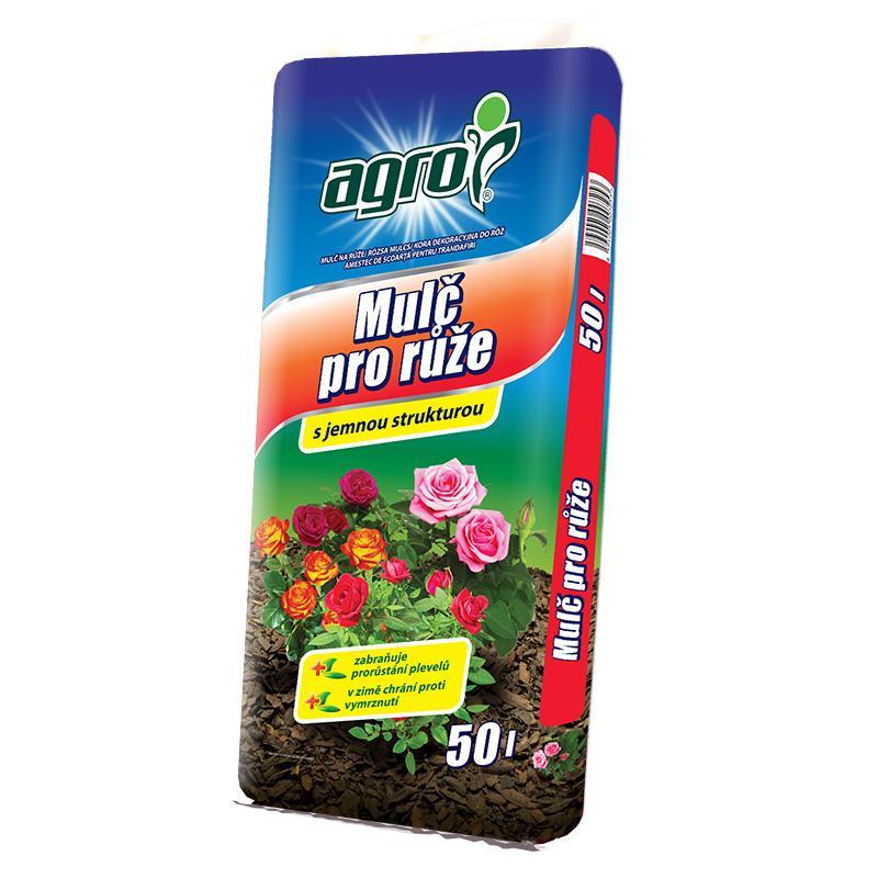 Agro mulčovací kůra pro růže, 50 l