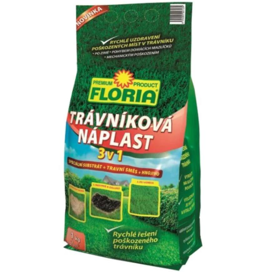 Trávníková náplast Floria, 1 kg