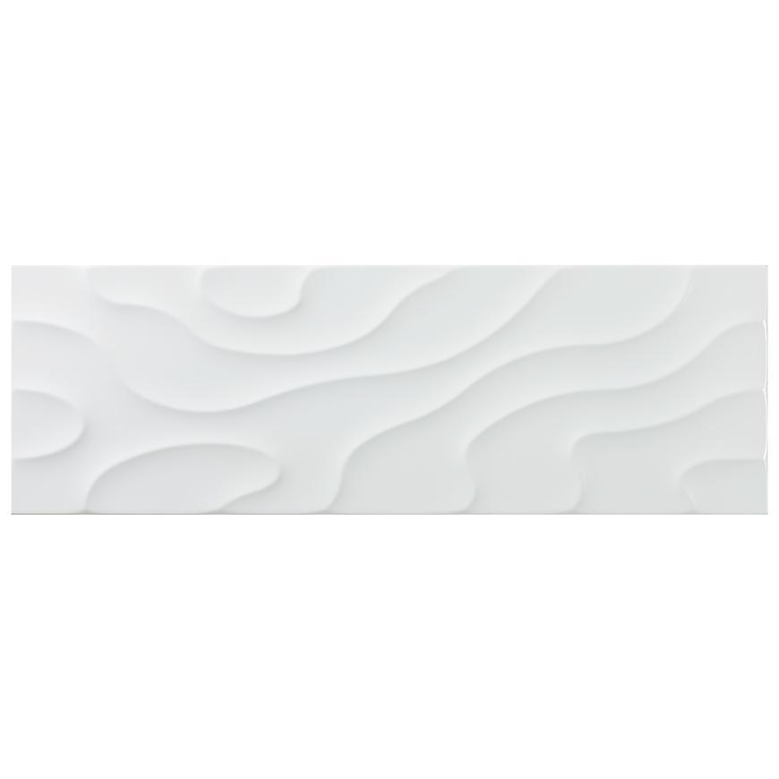 Dekor Vivaldi Blanco mat 25/75