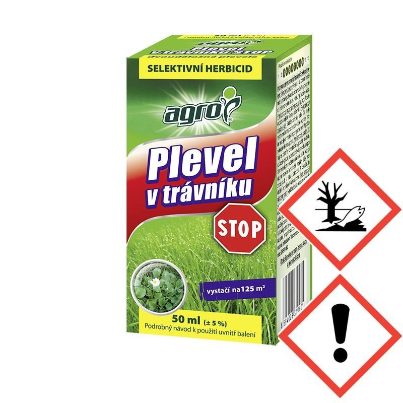 Přípravek Agro proti plevelu 50 ml