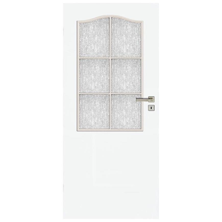 Interiérové dveře Kleopatra 2*3 80L bílé