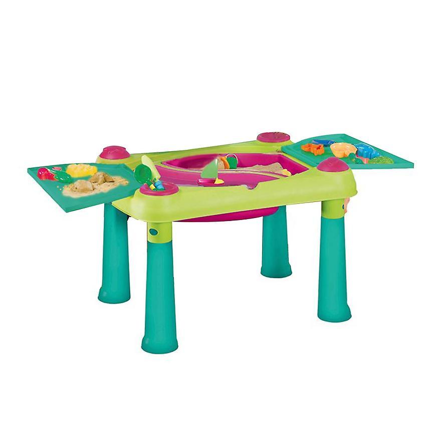 Kreativní dětský stolek zeleno-fialový 17184058