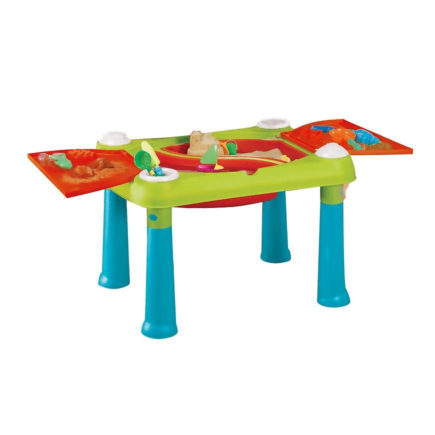 Kreativní dětský stolek modro-červený 17184058