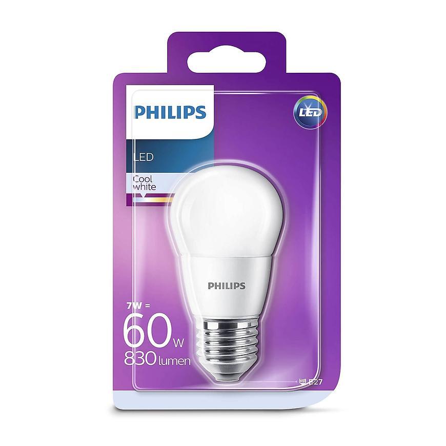 Žárovka LED 7 W = 60 W p45 e27 cw fr nd 1bc/6