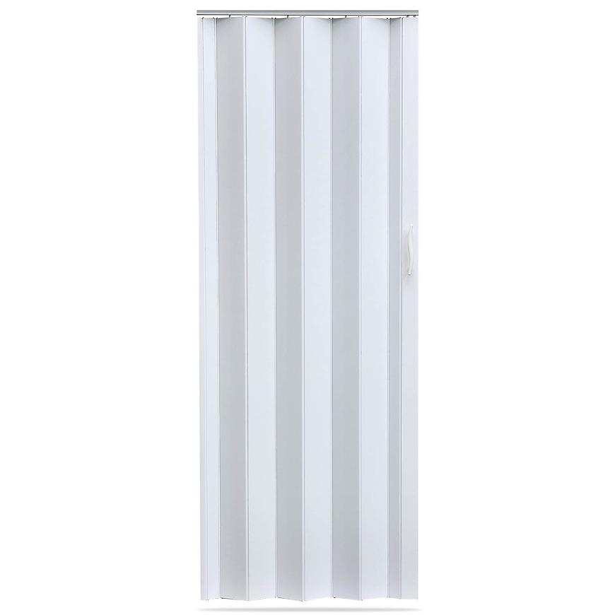 Shrnovací dveře Accordion bílé