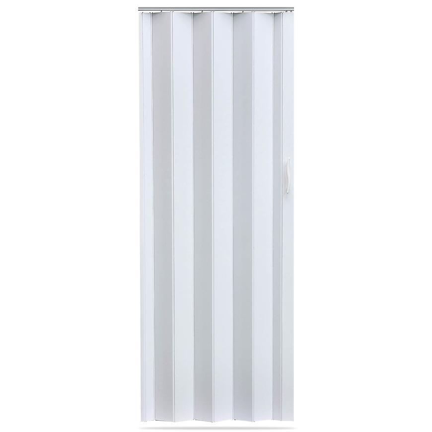 Shrnovací dveře Accordion bílé 820mm