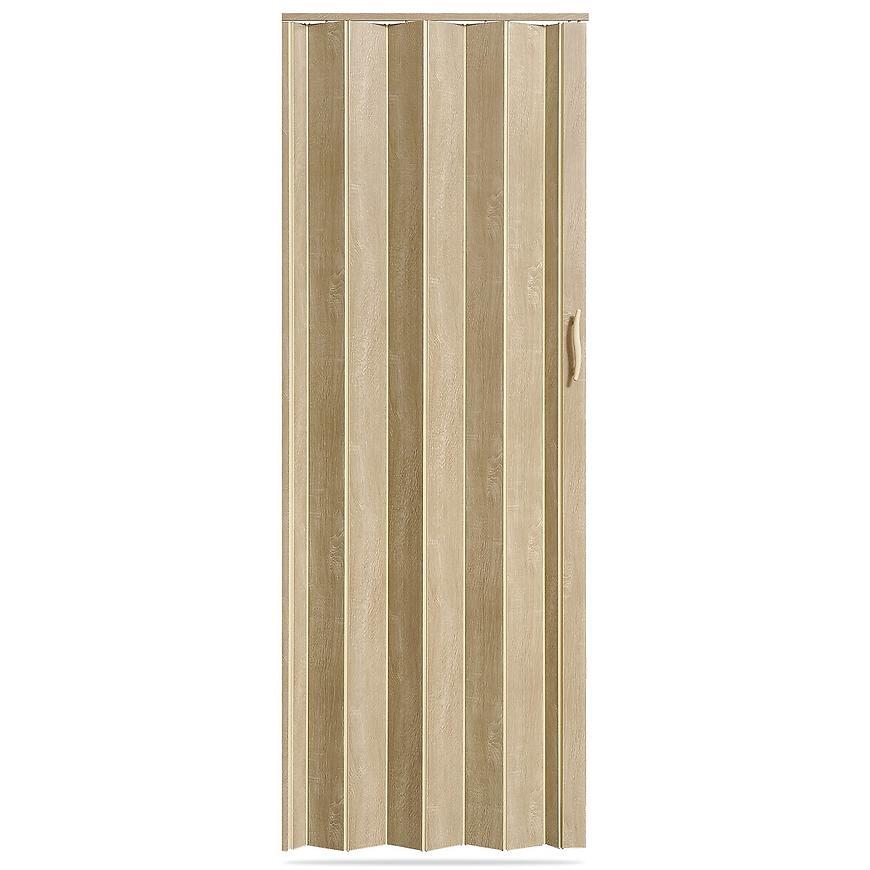 Shrnovací dveře Accordion dub sonoma 820mm
