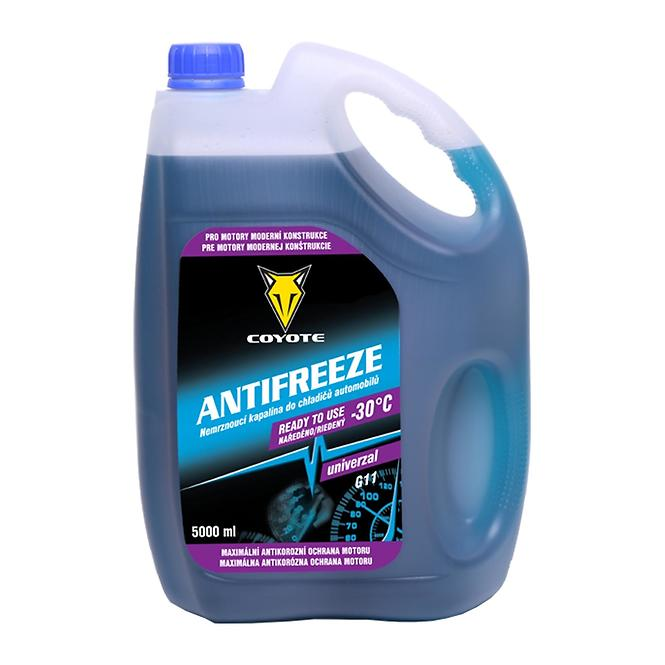 Coyote antifreeze G11 univerzal ready -30°C 5 l
