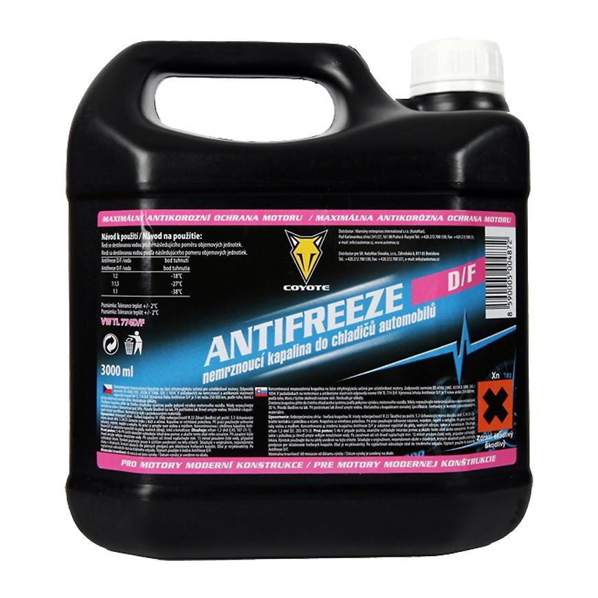 Coyote antifreeze G12+ D/F 3 l