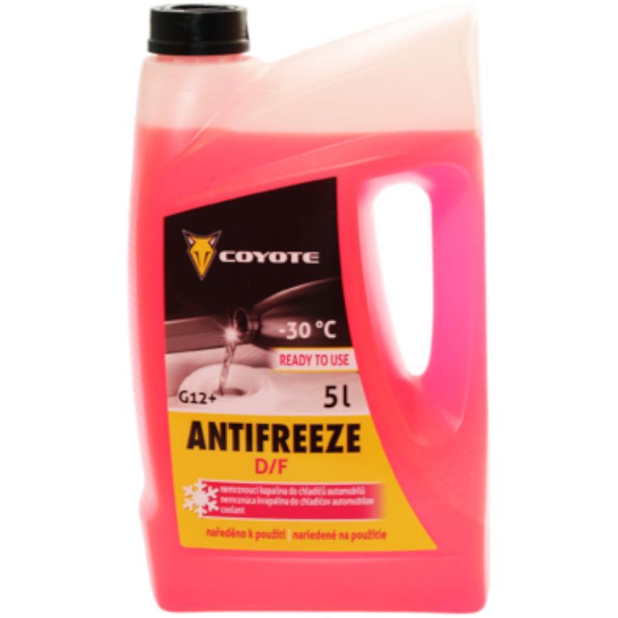 Coyote Antifreeze G12+ D/F Ready -30°C 5L