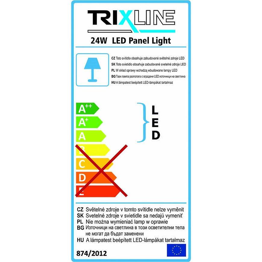 Nástěnné svítidlo 24W 2700K WW TR kulaté