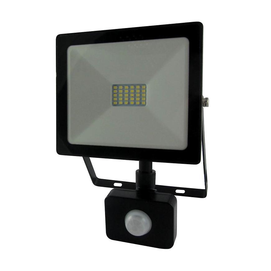 Reflektor LED 20W Flat s čidlem