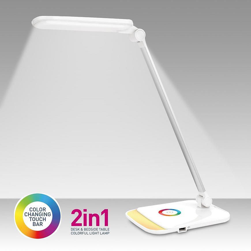 Stolní lampa PDLQ60 LED + USB