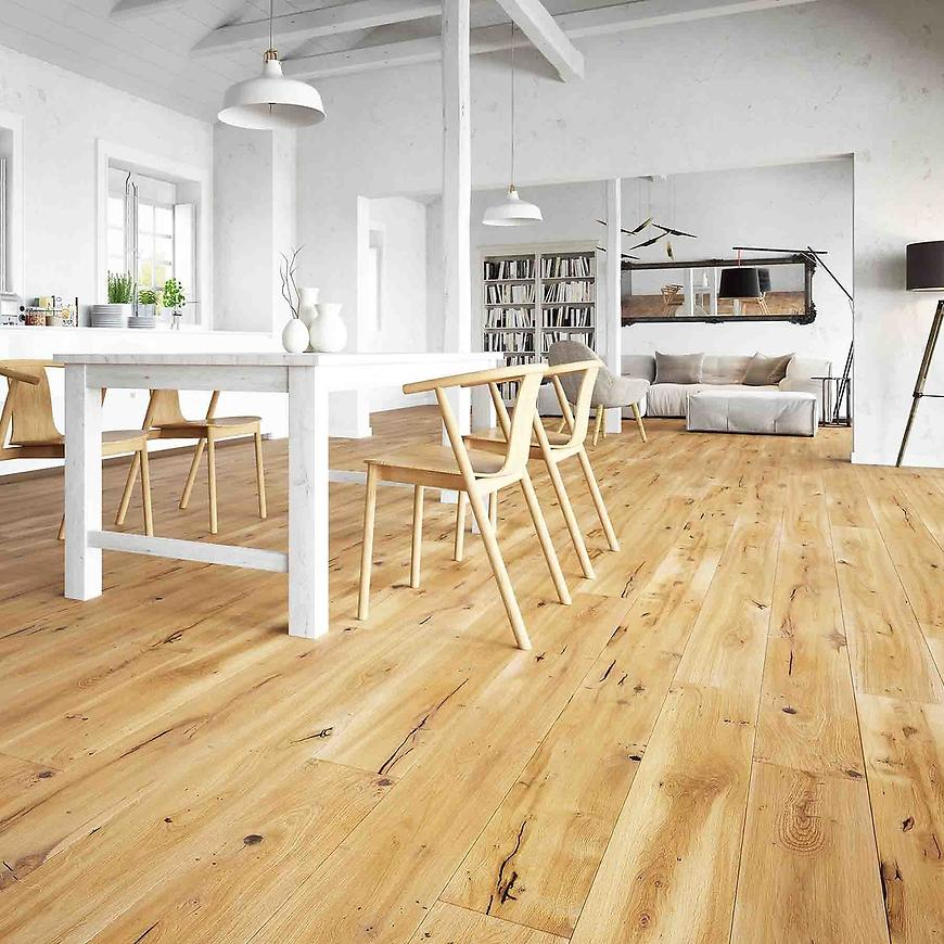 Dřevěná podlaha dub vintage 14x180x1092