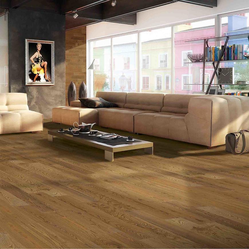 Dřevěná podlaha jasan cognac 14x180x1092