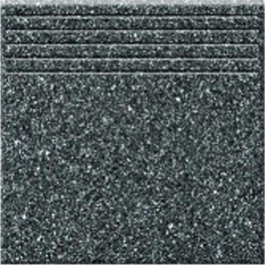 Dlažba schodová Tartan 5 - graphite 33,3/33,3