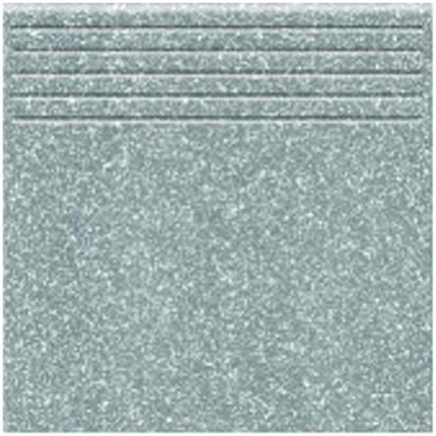 Dlažba schodová Tartan 11 - grey 33,3/33,3