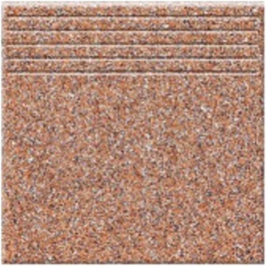 Dlažba schodová Tartan 6 - brown 33,3/33,3