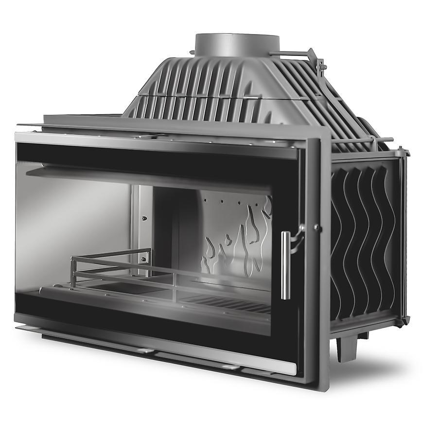Krbová vložka W16 Premium 14,7 kW sklo levé provedení