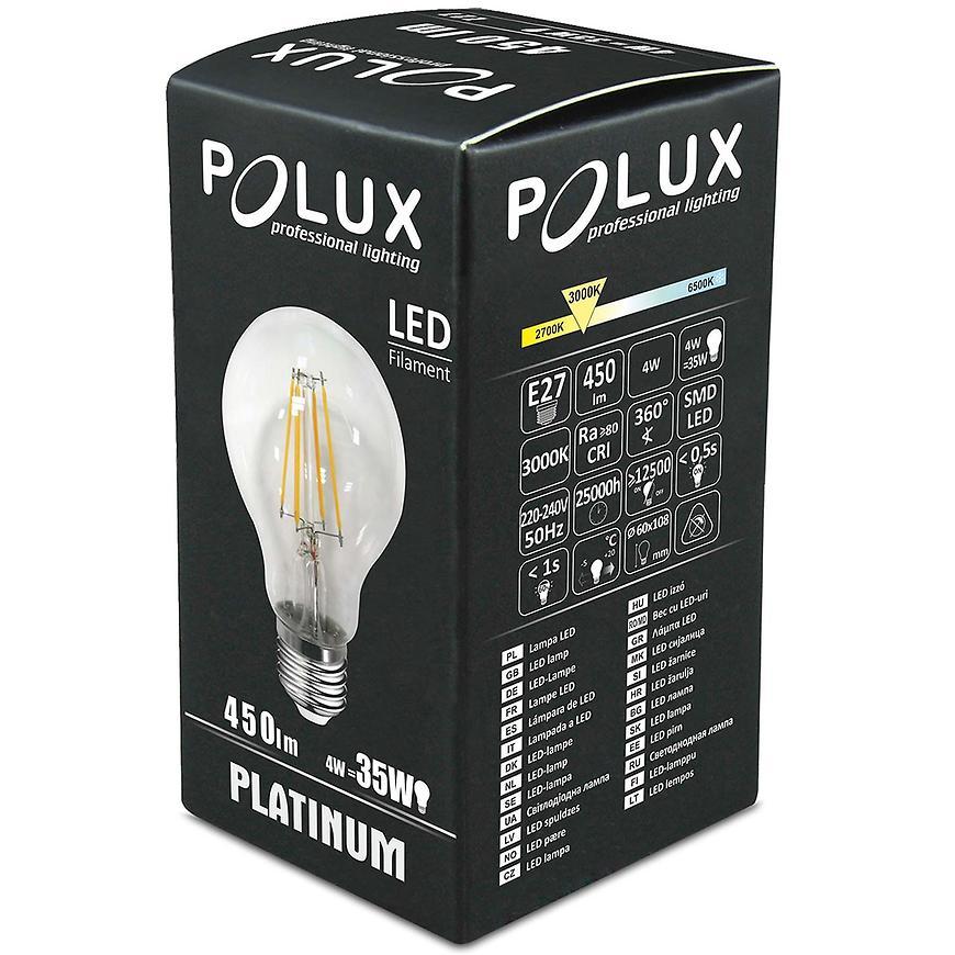 Žárovka LED Filament a60 e27 4 W