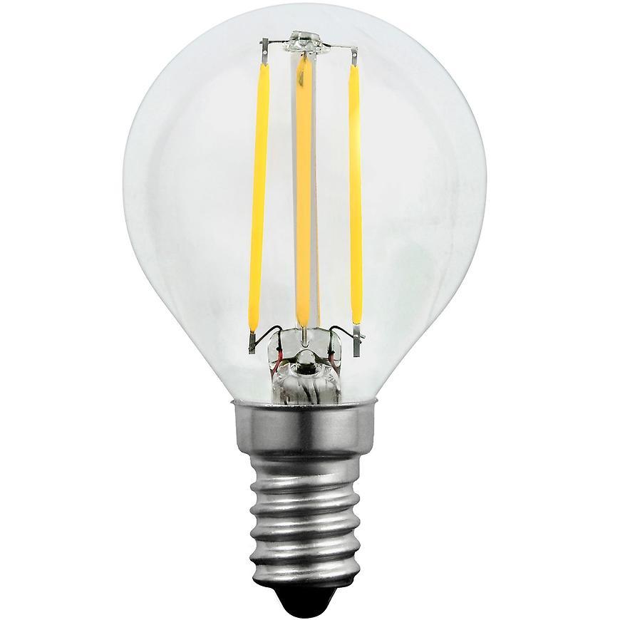 Žárovka LED Filament g45 e14 4 W