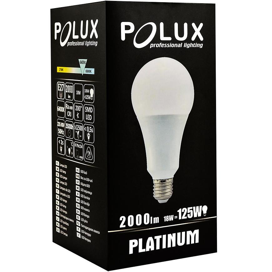 Žárovka LED e27 18 W 6400k 307309