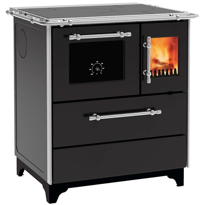 Kuchyňská kamna Donna 70 černá 5 kW levé provedení