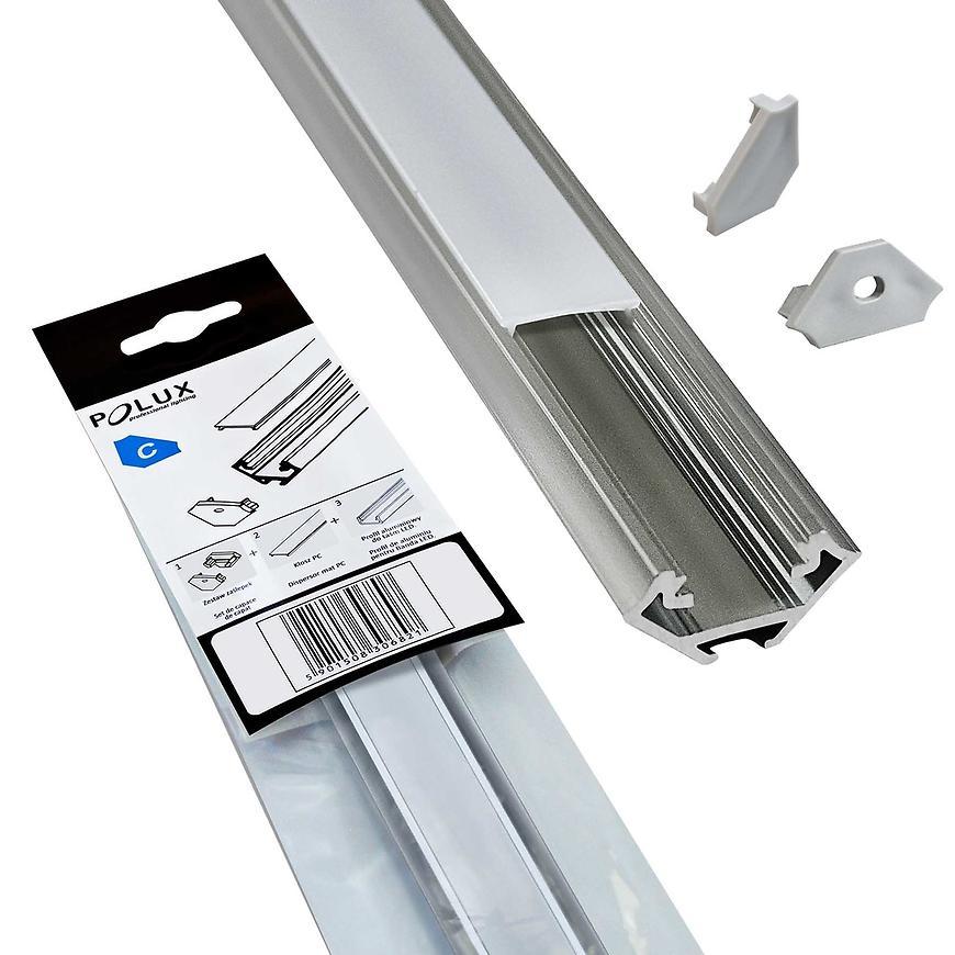 Hliníkový profil pro LED pásky 1m 306821