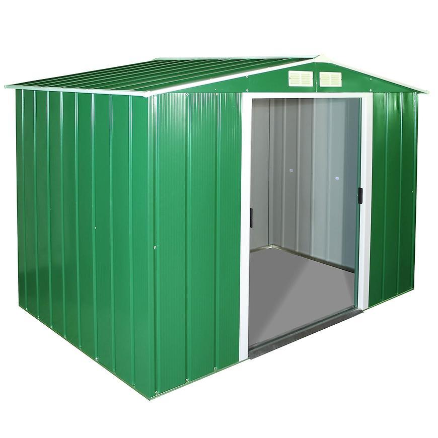 Eco domek kovový zahradní roz. 2423 x 2620 x 1910 zelený