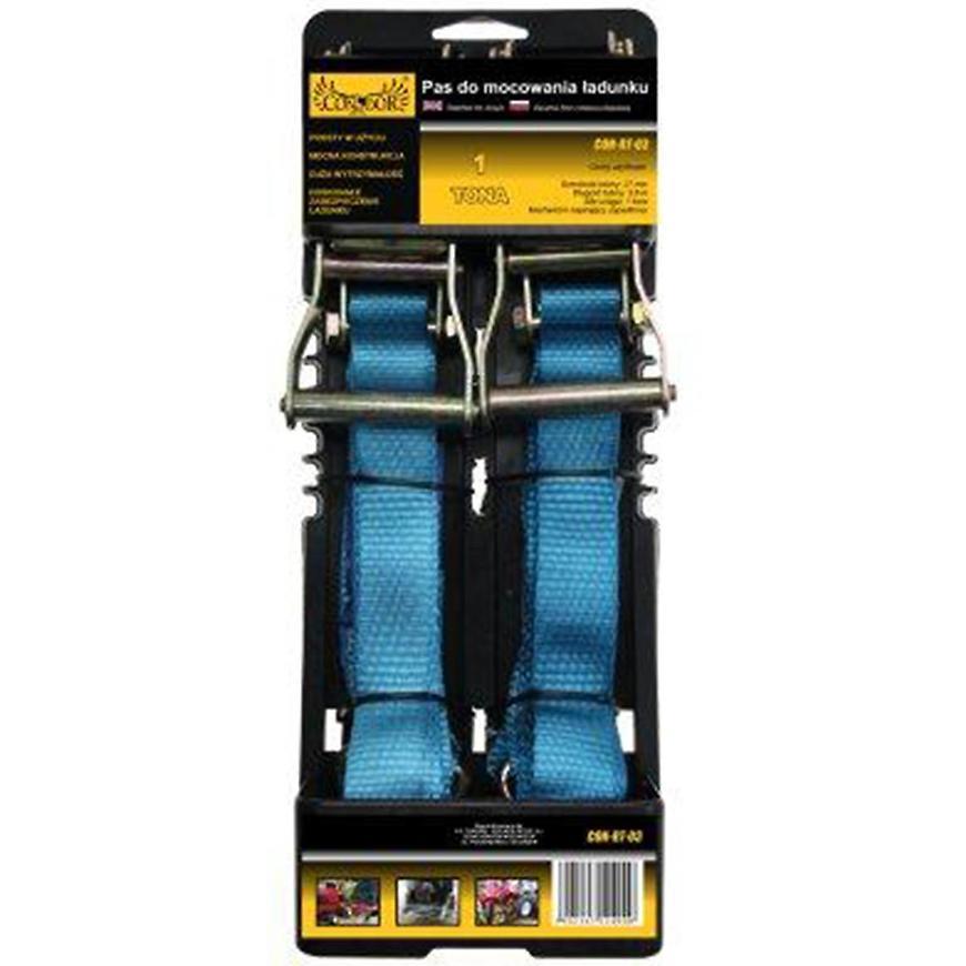 Pás s přezkou pro připevnění nákladu 27 mm x 3,0 m; 2ks