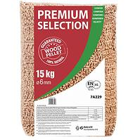 Pelety Premium Selection 18,3 Mj/Kg,15 Kg