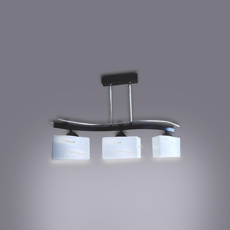 Závěsné svítidlo  Lira 2677/Z-B-3 BR LW3