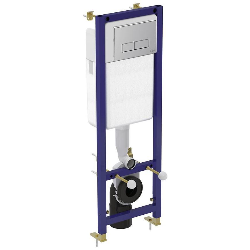 Podomítkový set WC Grohe Ideal Systems SET s ovládacím tlačítkem