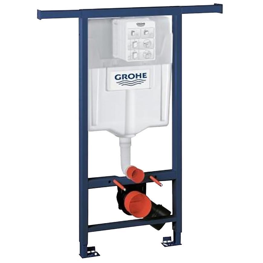 Podomítkový set WC Grohe 2v1 Rapid SL pro bytové jádro s ovládacím tlačítkem GROHE